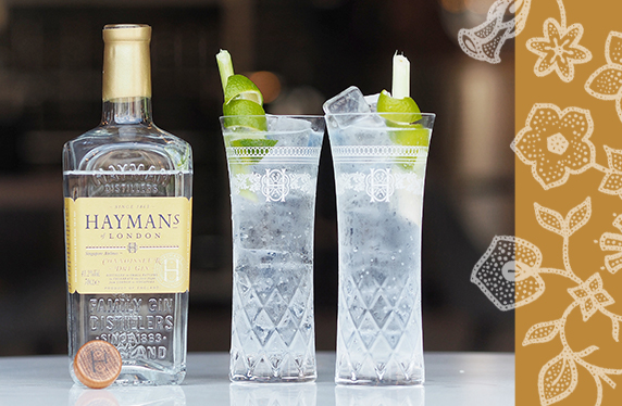 Hayman's Gin toasts Singapore Airlines' first London flight with limited-edition