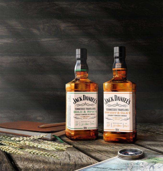 Jack Daniel's reveals two new duty-free exclusive whiskeys, Jack Daniel's Tennessee Travelers