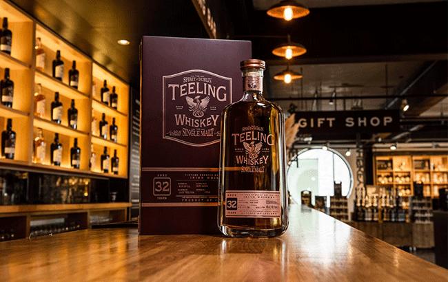 Teeling Distillery launches 32-year-old Vintage Irish whiskey