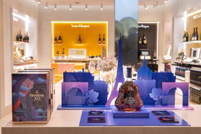 "Moët Hennessy reveals a new contemporary concept ""Les Caves Particulières"", at Paris-CDG Airport"