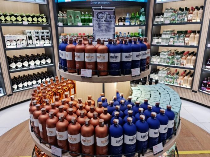 Crafter's gins make travel retail debut in Dubai Duty Free