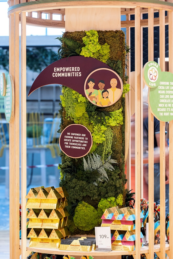 For People & Planet: Mondelez champions sustainability at Oslo Airport