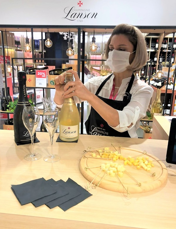 Lanson uncorks the Champagne and 'bistronomie' at Nice Airport this autumn