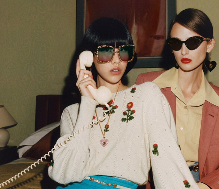 Gucci gets bold and funky with new A/W Eyewear collection
