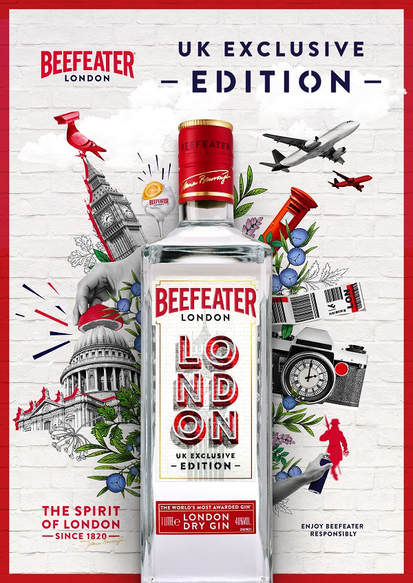 Beefeater launches new London Travel Edition exclusively at Dufry's World Duty Free
