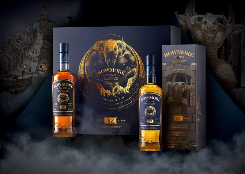 Bowmore unveils 'No Corners to Hide' whiskies exclusively to Travel Retail
