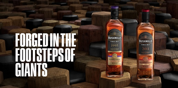 Bushmills Irish Whiskey announces two new additions to the popular Causeway Collection
