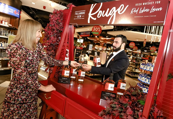 Bonjour, Tullamore D.E.W. Rouge! Travel retail exclusive launches at Dublin Airport's The Loop