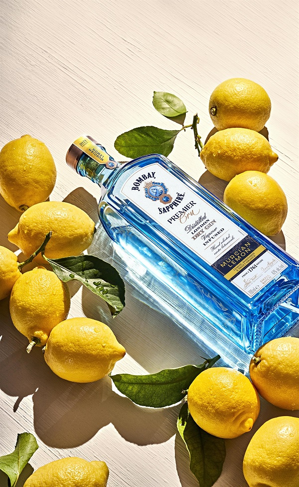 BOMBAY SAPPHIRE toasts nature's finest flavours with new Premier Cru Murcian Lemon Gin