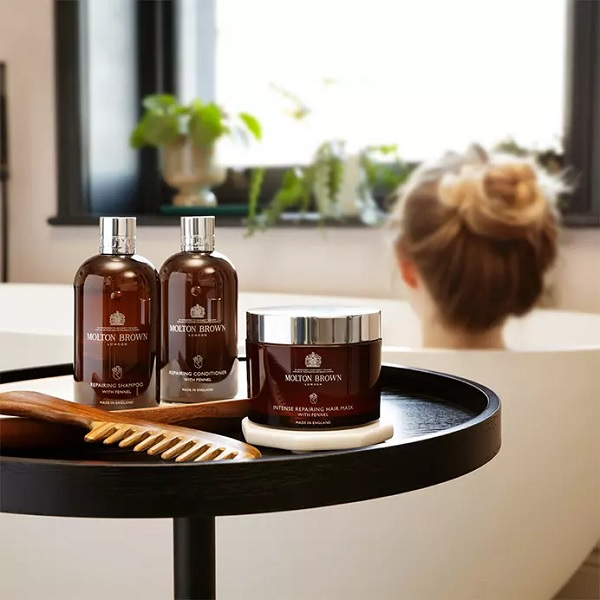 Molton Brown brings new Botanical Hair Care Collection to duty-free