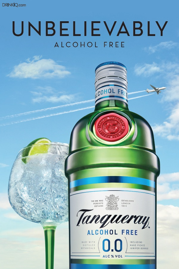 Tanqueray 0.0% alcohol-free 'Gin' launches in duty-free