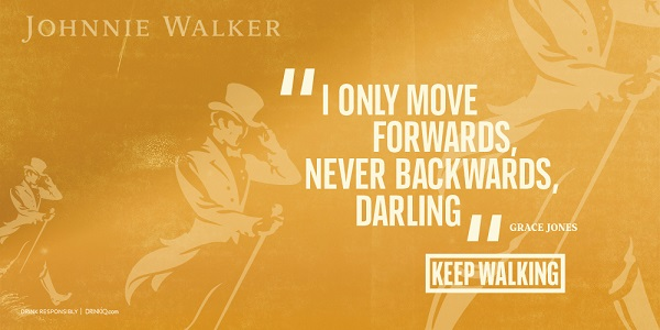 Johnnie Walker debuts new Keep Walking campaign to get the world moving again