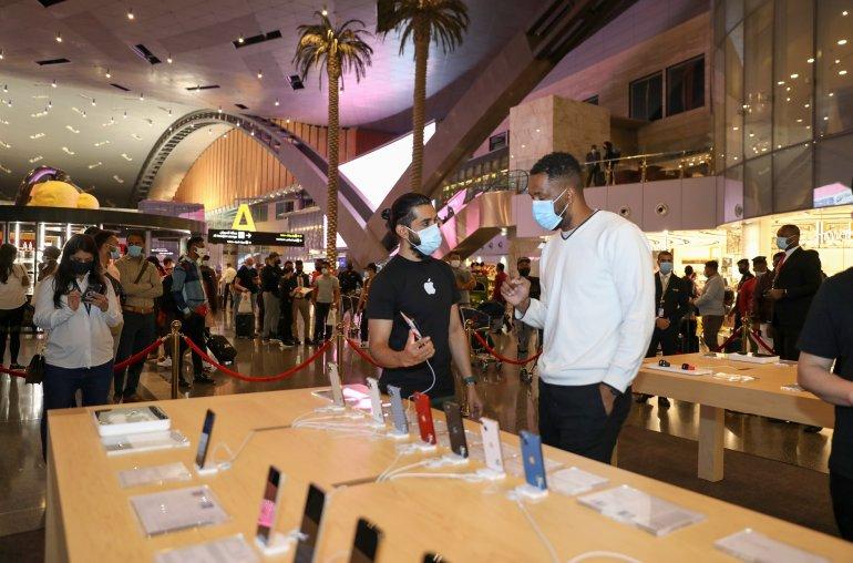 Qatar Duty Free opens Apple shop at Doha's Hamad International Airport