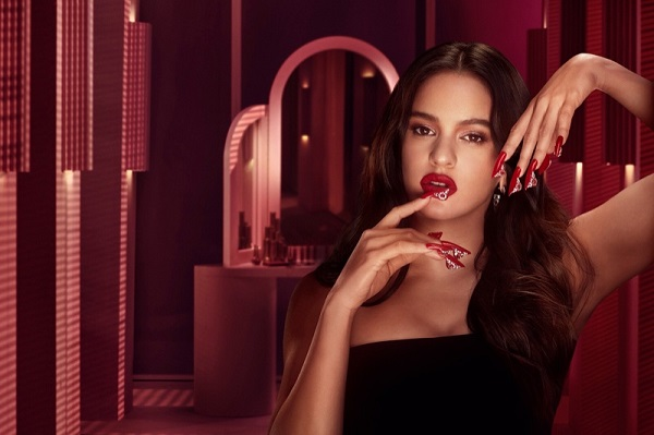 Rosalia X MAC collaborate on Aute Cuture beauty collection